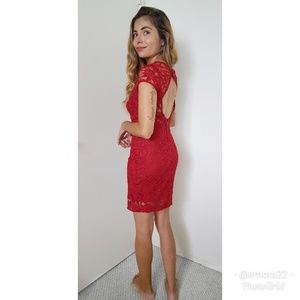BEBE | Lace Mini Dress NWT